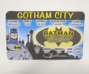 batman id collectible