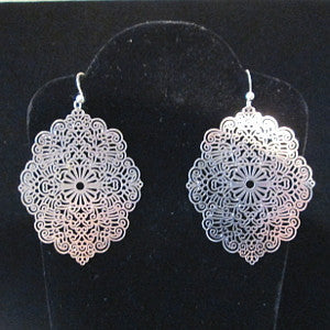 Laser cut earrings-Prague