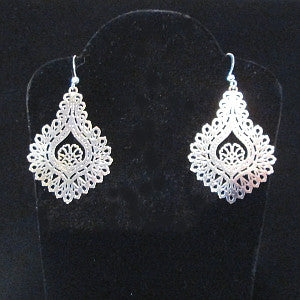 Laser cut earrings-San Diego