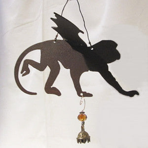 flying monkey wind chime