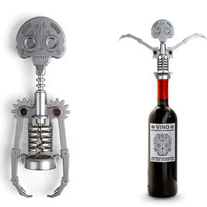 wine corkscrew day of the dead