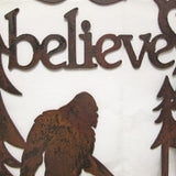 Believe Wreath-Bigfoot
