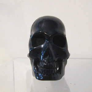 skull carved from horn