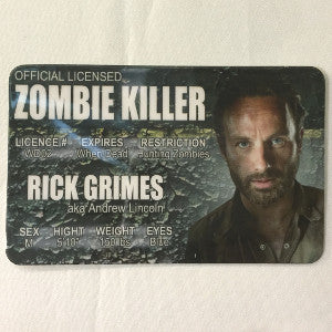 rick grimes id collectible