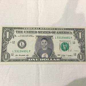 collectible sheldon cooper dollar
