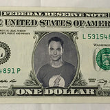 Celebrity dollar-Sheldon Cooper