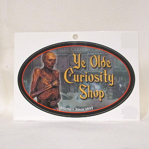 Ye Olde Curiosity Shop sticker
