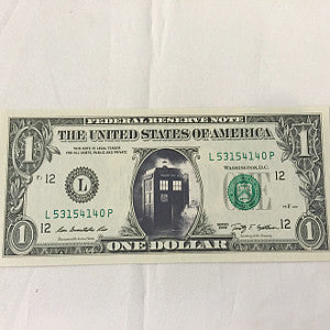 collectible tardis dollar