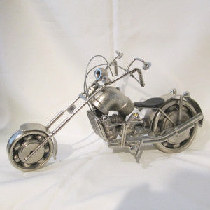 chopper recycled metal