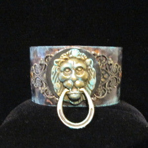 lion knocker bracelet