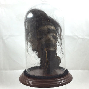 Replica shrunken head trophy
