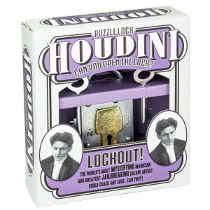 Houdini puzzle lock-Lockout!