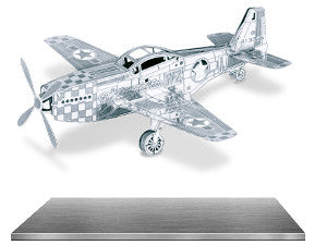 mustang p-51 3d puzzle