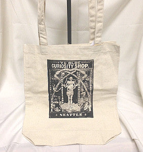 Ye Olde Curiosity Shop canvas tote