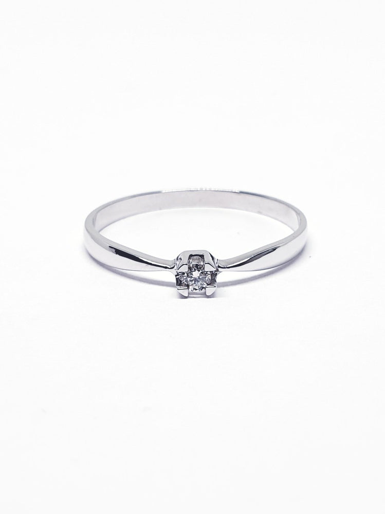 Solitari My Diamonds white gold