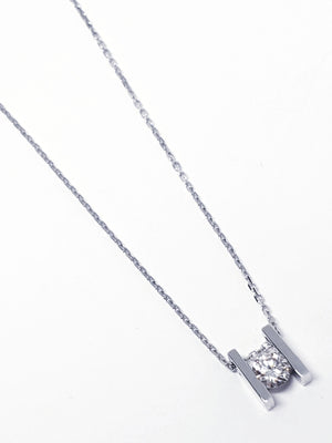 Collar My Diamonds white gold