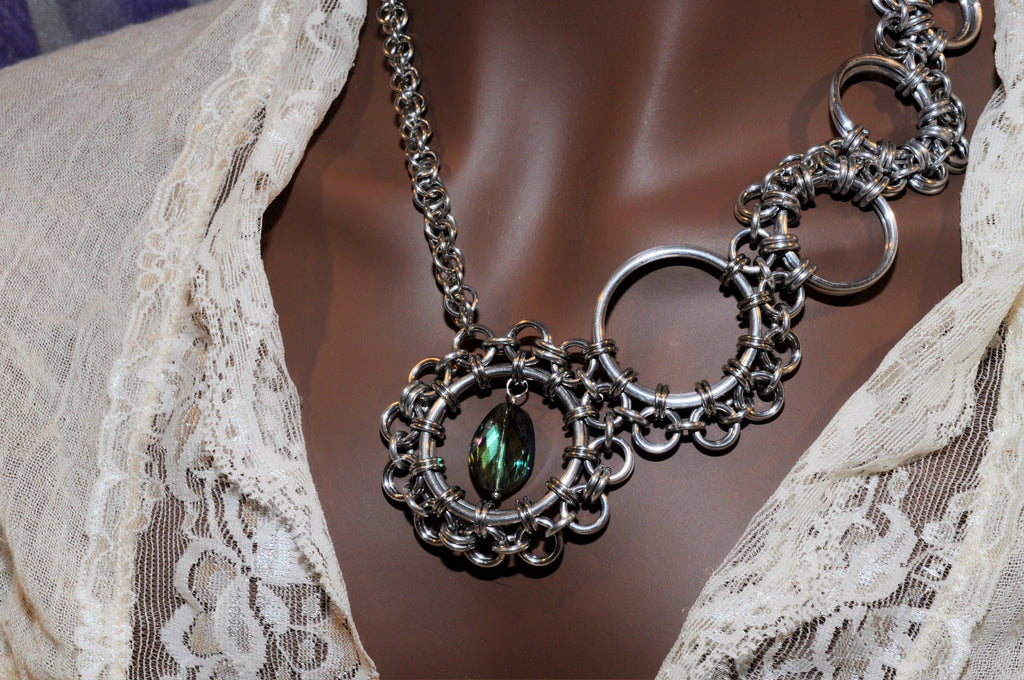 alteredxpressions clockwork necklace art on by deviantart plesscreations steampunk