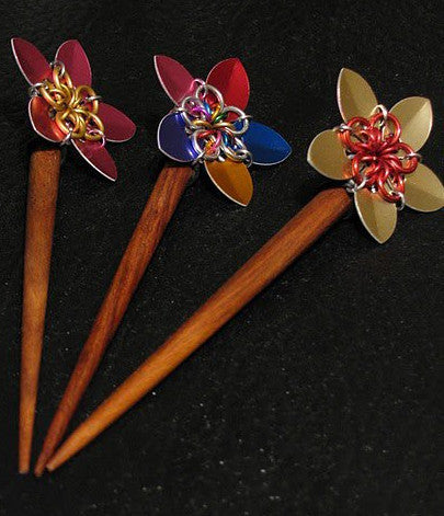 Flower Hair Stick