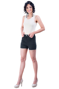 Plain Hot Pants (Black)