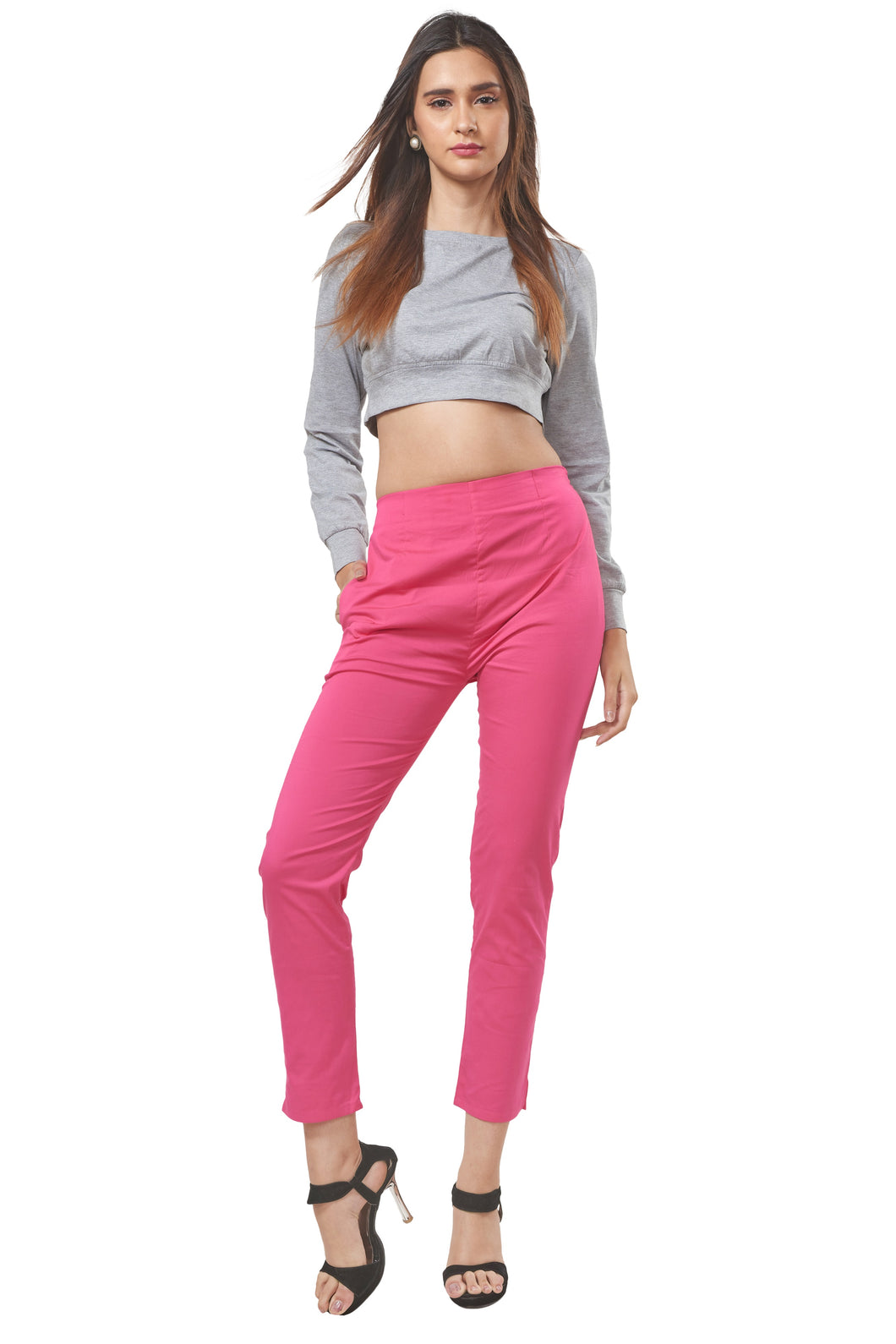 Straight Pants (Pink Lemonade)