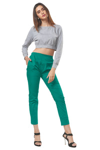 Straight Pants (Green)