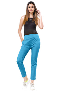 Straight Pants (Turquoise)
