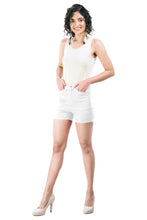 Load image into Gallery viewer, Plain Hot Pants (White)