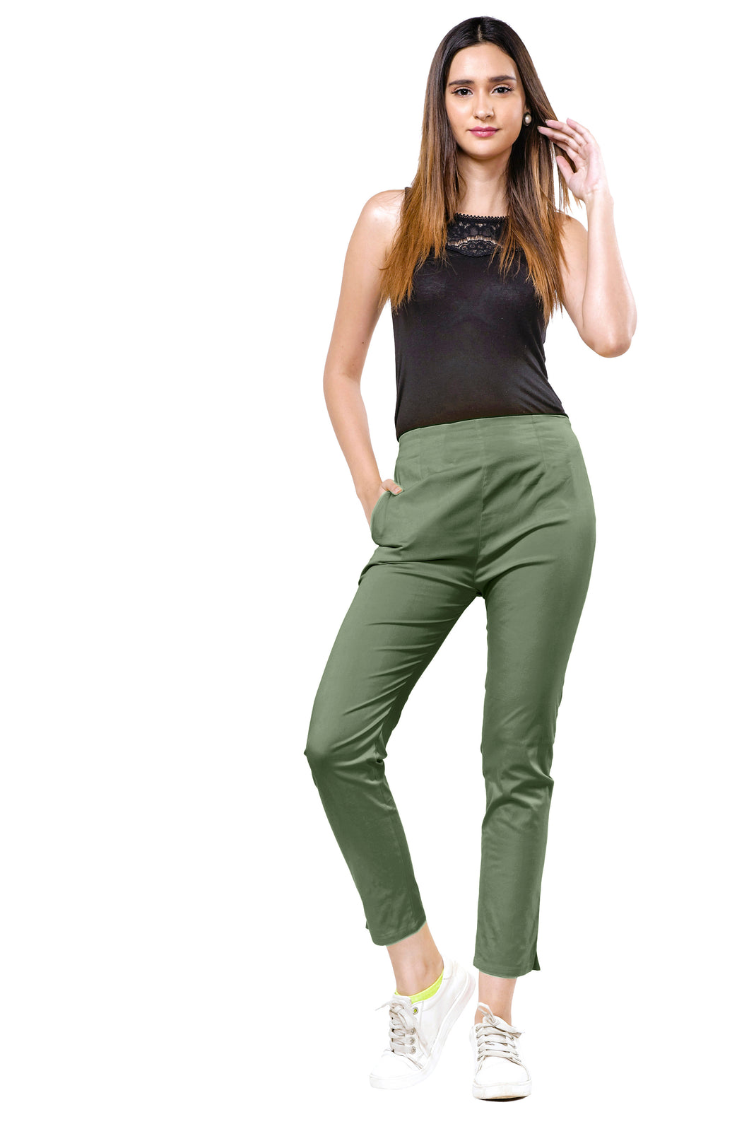 Straight Pants (Khaki)