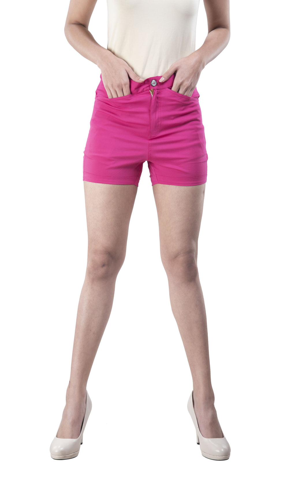 Plain Hot Pants (Magenta)