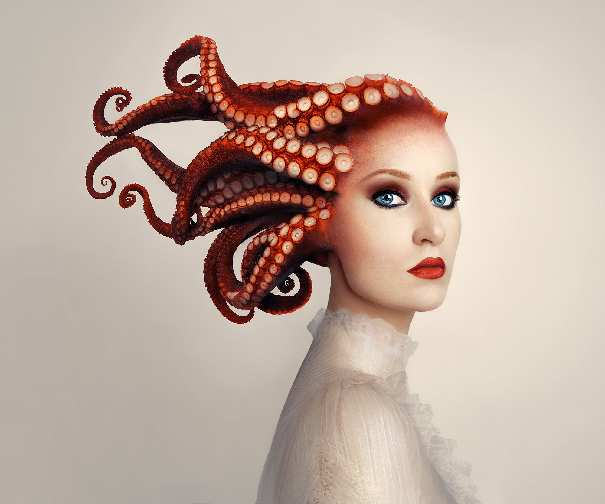 Lady Octopus, Limited Edition Print