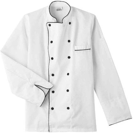 18120-FIVE STAR CHEF APPAREL-EXECUTIVE CHEF COAT (SIZE XS-5X)