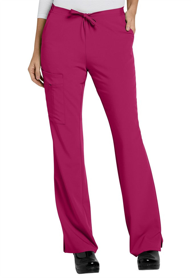 Jockey Ladies 1/2 Elastic; 1/2 Drawstring Zipper Pocket Pant- Item# 2249 (Petite Length- Sizes XXS-2X)