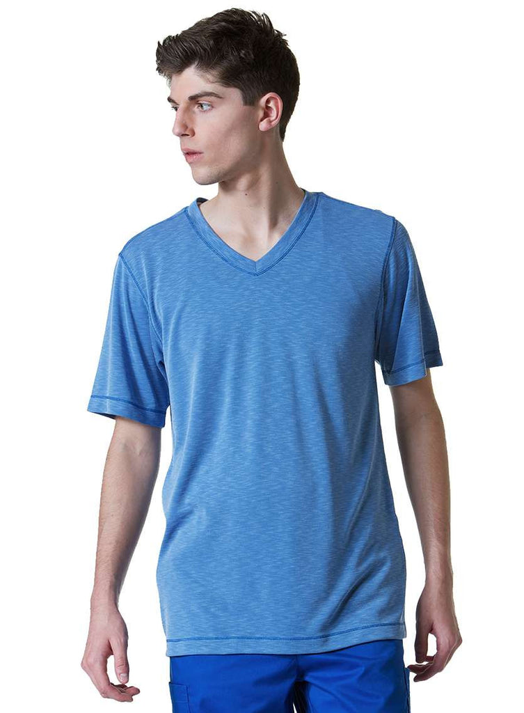 Maevn Uniforms-Modal Knit-Men's Curved V-Neck Modal Knit Top-Item# 6409 (Size XS-2X)