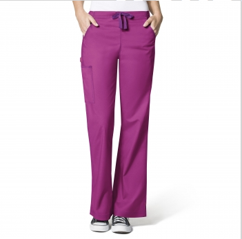WonderFlex by WonderWink- GRACE-Flare Leg Cargo Pant-item# 5308 (Regular Length Size XXS-L)