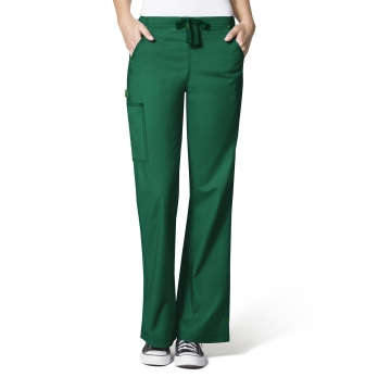 WonderFlex by WonderWink- GRACE-Flare Leg Cargo Pant-item# 5308 (Regular Length Size XL-5XL)