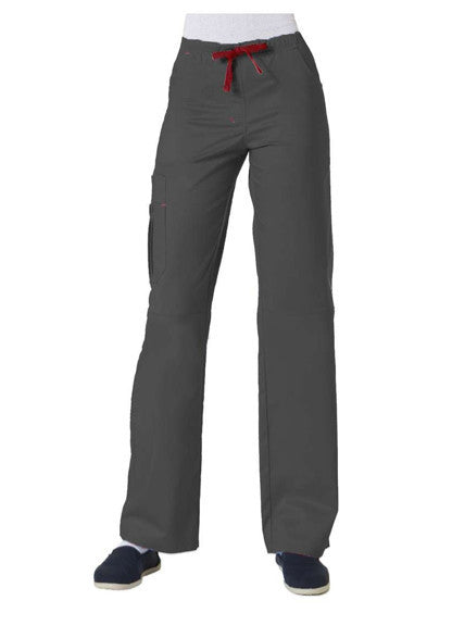 Maevn Blossom-Item# 9302-Triple Pintuck Multi Pocket Utility Cargo Pant (Regular Length) (Size XS-2XL)