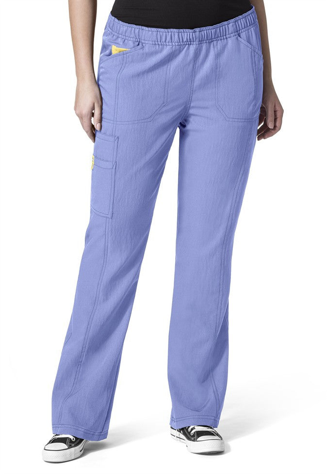 WonderWink Plus-SMART-Boot Cut Cargo Pant-Item# 5105 (Regular Length) (Size 1X-5X)