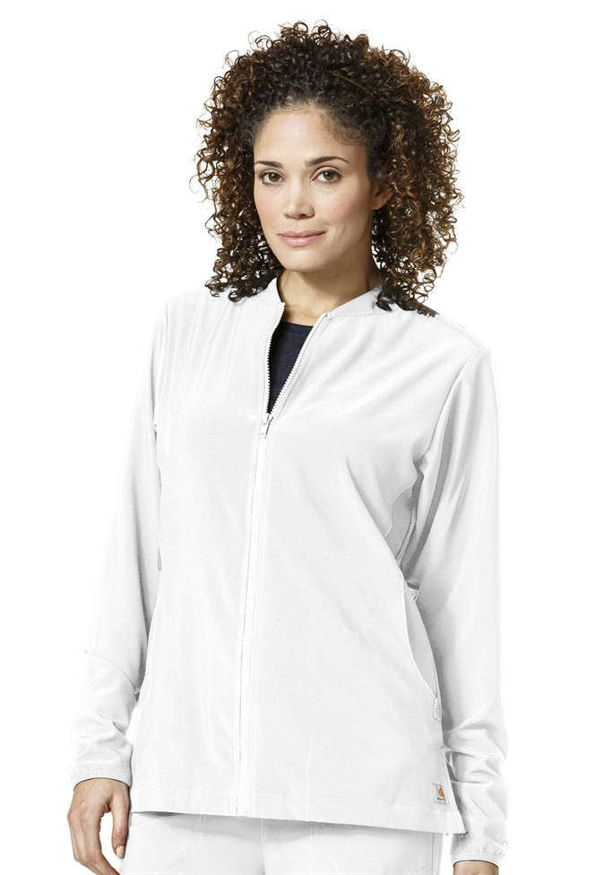Cross-Flex by Carhartt-Women's Knit Mix Zip Front Jacket-Item# C82310 (Size XS-3X)