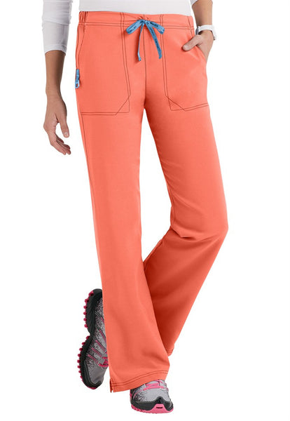 Cross-Flex by Carhartt-Women's Flat Front Flare Pant-Item# C52210 (Petite Length)(Size XS-3X)