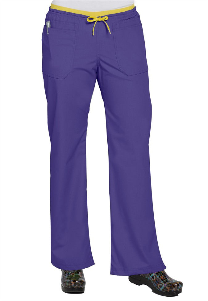 "Origins by WonderWink-THE UNIFORM-Item# 5056-""Lady"" Fit Pant (Regular Length) (Sizes 2X-3X)"