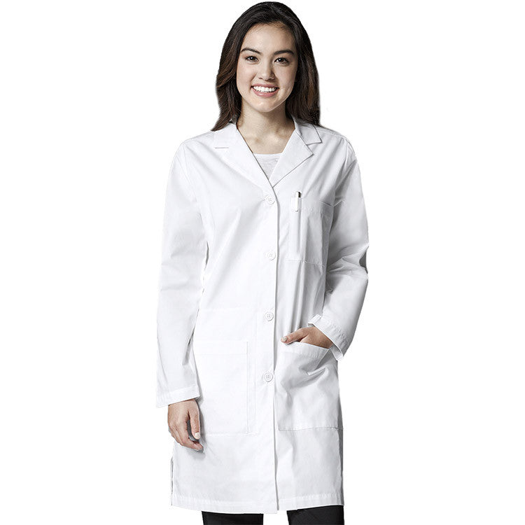 WonderLAB by WonderWink-Women's Long Lab Coat-Item# 7402 (Size XXS-5X)