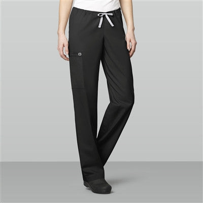 WonderWORK by WonderWink-Unisex Drawstring Cargo Pant-Item# 500 (Size XXS-L) (Regular Length)