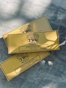 TWG tea box