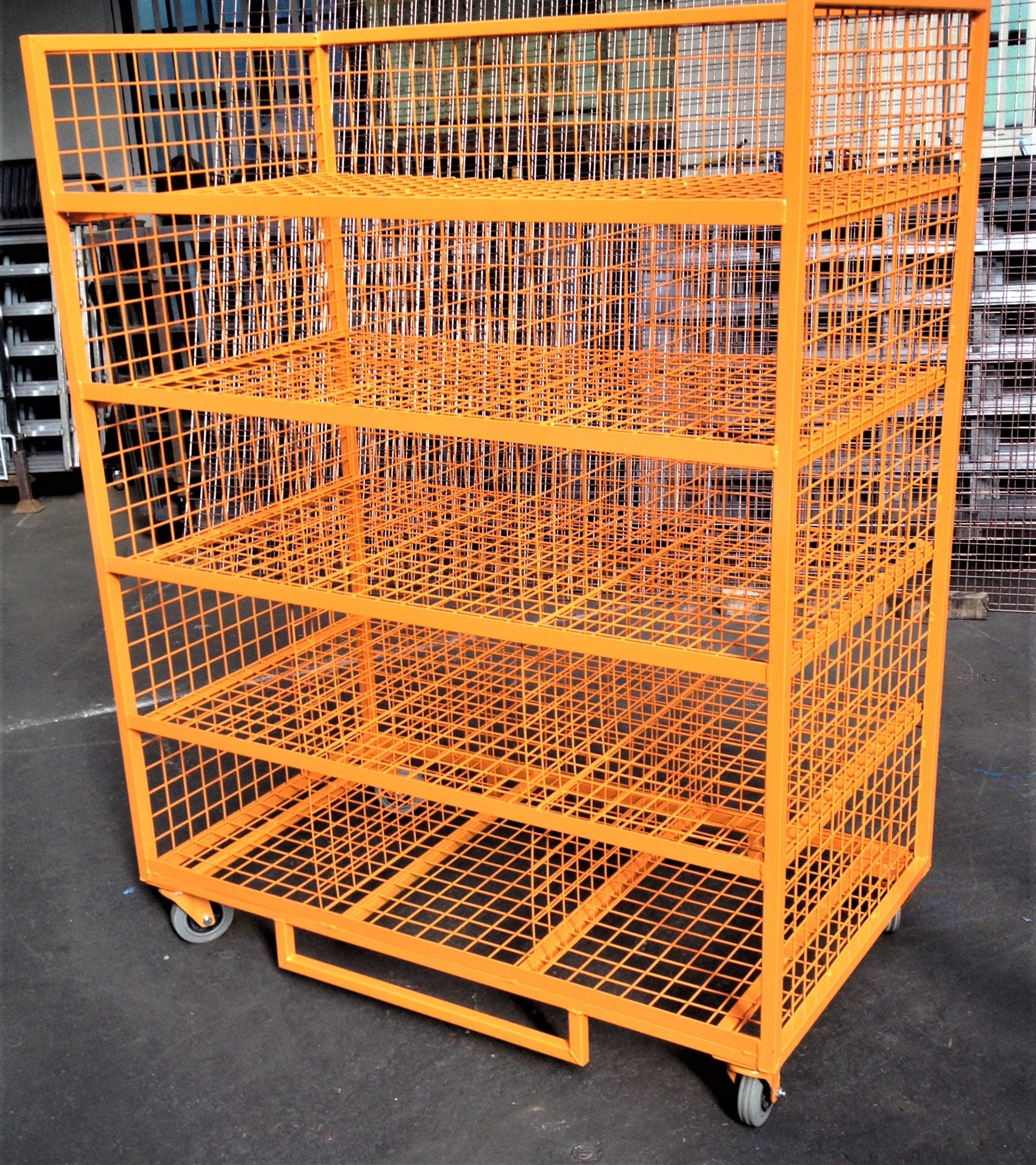 Pigeon Hole Picking Trolley