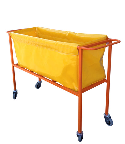 warehouse picking trolley with bag