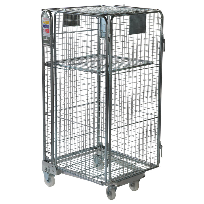 Full Security Roll Cage Pallet - Mesh Infill