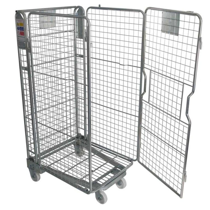 Four Sided Roll Cage Pallet - Mesh Infill