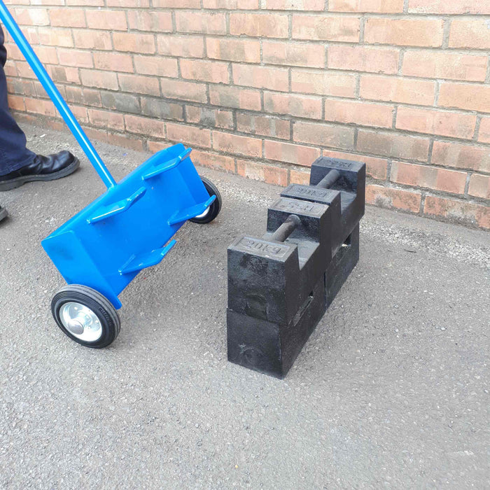 Test Weight Hook Moving Trolley