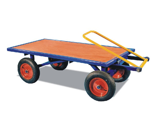 Large Turntable Platform Truck With Choice Of Wheels