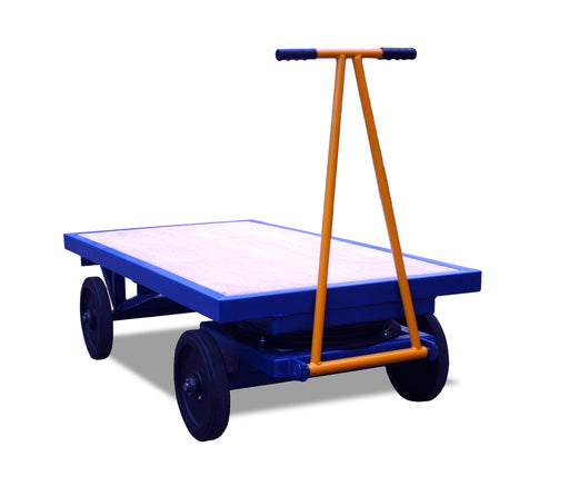 Heavy Duty Small Turntable Platform Truck
